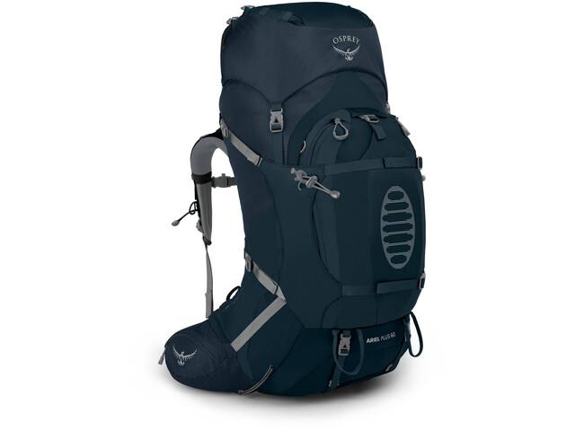 Osprey Ariel Plus 60 Backpack Women, night jungle blue